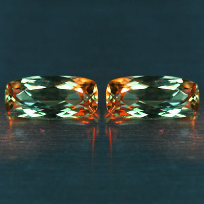 2.10Cts~Flawless !!  Matching Pair~100 % NATURAL COLOR CHANGE DIASPORE_TURKEY