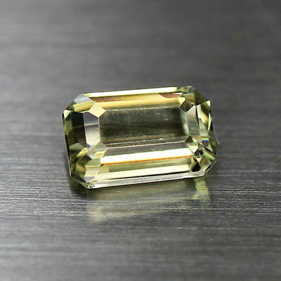 0.76Cts_Flawless_Emerald Cut_100 % NATURAL COLOR CHANGE  DIASPORE_TURKEY