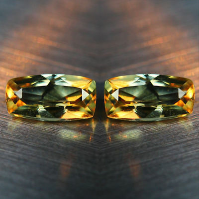1.75 Cts_WOW ! FLAWLESS_MATCHING PAIR_100 % NATURAL COLOR CHANGE DIASPORE_TURKEY