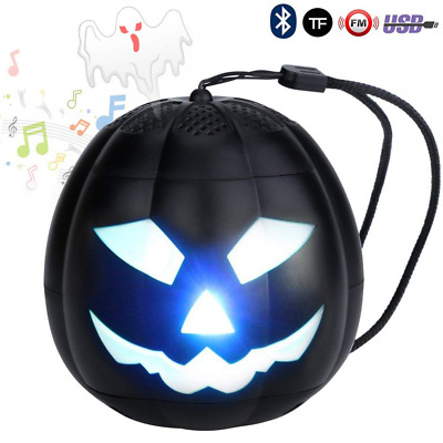 Portable Bluetooth Speakers,Pumpkin Head Mini Wireless Outdoor Indoor Creativity