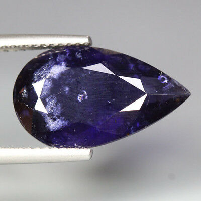 5.66 Cts_Unique Rare Collection_100 % Natural Tanzanite Hue Purplish Blue Iolite
