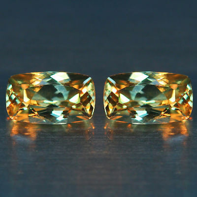 1.79 Cts~Flawless Matching Pair~100 % NATURAL COLOR CHANGE  DIASPORE_TURKEY