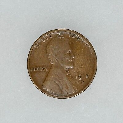 1915 S Lincoln Wheat Cent Penny 1C Vf Xf Very Fine Extra Fine (5612)