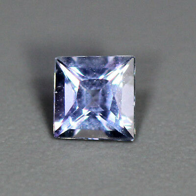 0.31 Cts_Unique Rare Princess Cut_100 % Natural Purplish Blue Iolite_Srilanka