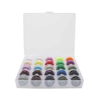 25 Pcs Sewing Machine Thread String Mixed Colors Thread Accessories Sets