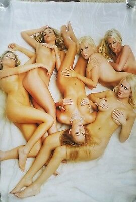 2010 NUDE BLONDES Pyramid International UK Pinup Poster.