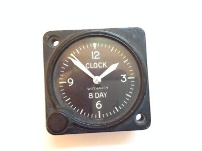 Antique Aircraft 8-Day Clock