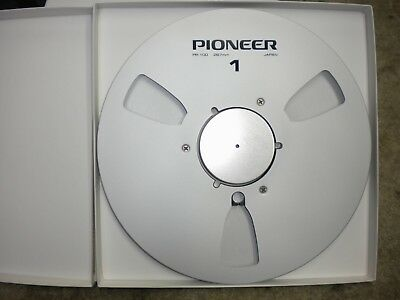 "New! Pioneer NAB 10.5"" inch Metal Reel for 1/4"" tape PR-100"