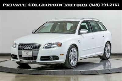 2008 Audi S4  2008 Audi S4 Avant Wagon 1 Owner Clean Carfax Low Miles Well Kept