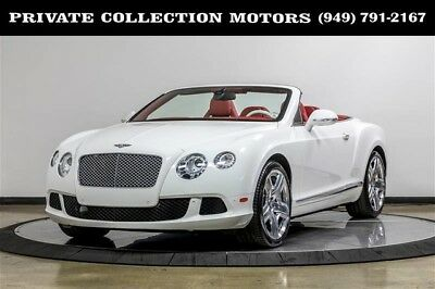 2012 Bentley Continental GT  2012 Bentley Continental GTC Mulliner 2 Owner Clean Carfax 9k Low Miles