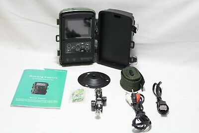 TEC.BEAN Trail Camera 12MP 1080P 2.4 Inch Color LCD Screen Full HD Game Camera