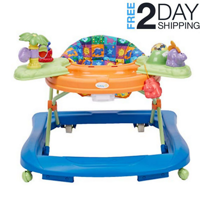 Baby Walker Activity Center Sounds 'n Lights Discovery Dino Play Safety 1st