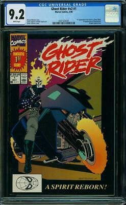 Ghost Rider #1 (CGC 9.2 NM-) (Marvel 1990) 1st App. of Dan Ketch as Ghost Rider!