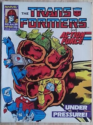 Transformers UK Comic Issue 168