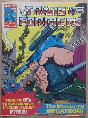 Transformers UK Comic Issue 52