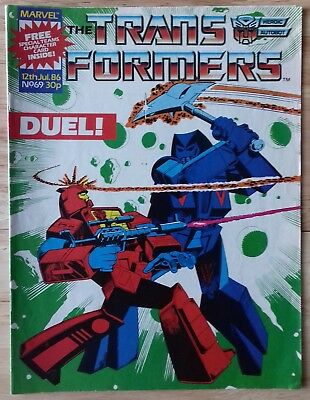 Transformers UK Comic Issue 69