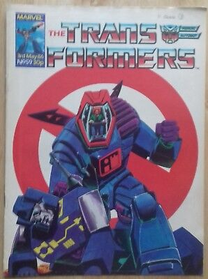 Transformers UK Comic Issue 59