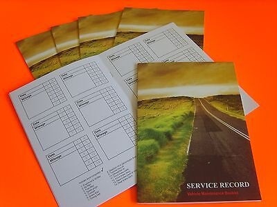 JAGUAR SERVICE BOOK SERVICE HISTORY RECORD LOG BOOK REPLACEMENT