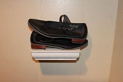 Capezio Black Leather Tap Mary Jane Style Dance  Shoes Womens Size 6.5 w
