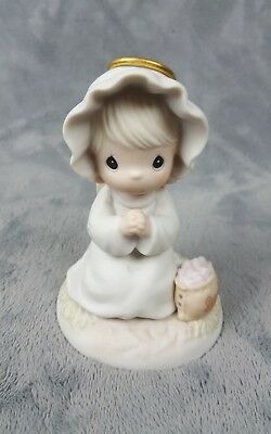 Enesco Precious Moments Sowing Seeds of Kindness Figurine #163856 - 1995