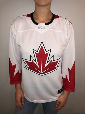 Adidas 2016 Team Canada World Cup of Hockey Jersey Youth L/XL WCH
