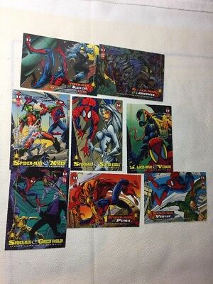 spider-man trading cards