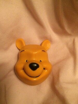 Disney Parks Exclusive Winnie The Pooh 3-D Head Magnet New