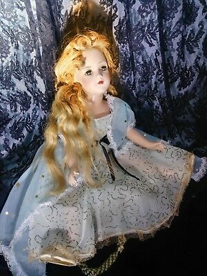 "1940,s Rare 18"" Madame Alexander Wendy Ann Composition Tagged Bride Doll"