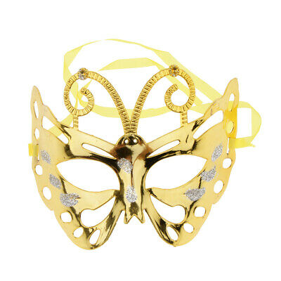 Butterfly Eye Mask Masquerade Party Fancy Ball Cosplay Costume Half Face Mask