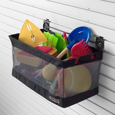 New Gladiator 60Cm Mesh Basket Large Storage Durable Powdercoat Finish Organizer