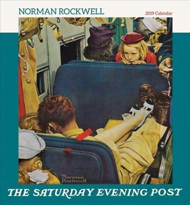 Norman Rockwell the Saturday Evening Post 2019 Wall Calendar 9780764980978