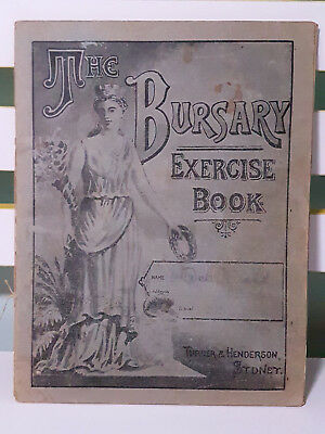 Set of 2x Bursary Exercise Books! Vintage School Books!