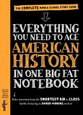 Big Fat Notebooks: Everything You Need to Ace American History in One Big Fat...