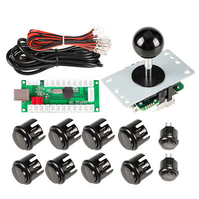 Arcade Control Joystick + Buttons Kit For Mame Raspberry Pi Retropie Project DIY