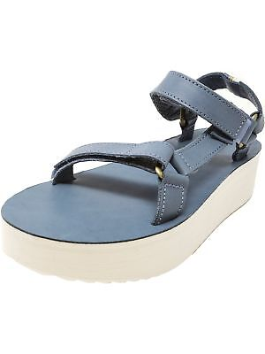 Teva Women's Flatform Universal Crafted Ankle-High Leather Sandal