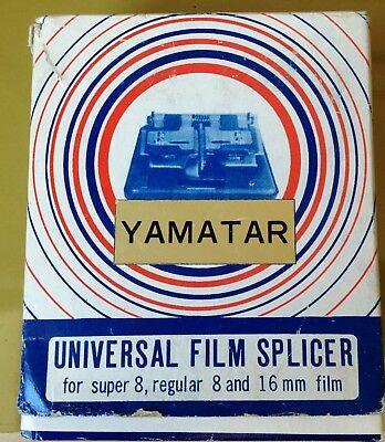 Yamatar Universal Film Splicer - In Original Box