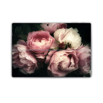 Blush Pink Rose Flower Removable Vinyl Skin Sticker Wrap to fit Surface Pro