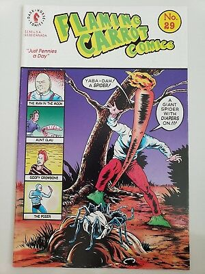 Flaming Carrot Comics #29 (1992) Dark Horse Comics Bob Burden! 1St Print!