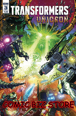 Transformers Unicron #3 (Of 6) (2018) 1St Print Milne Cover A Idw Comics ($4.99)
