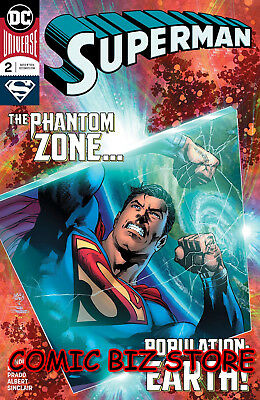 Superman #2 (2018) 1St Printing Main Cover Bagged & Boarded Dc Universe