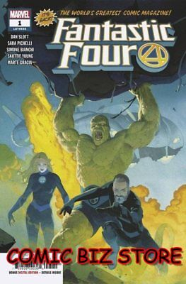 Fantastic Four #1 (2018) 1St Printing Main Cover Marvel *special Low  Pricing*