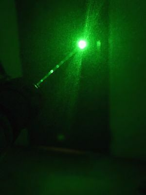 Bnib Green Laser Pen Pointer 303 Adjustable Beam Pattern Light Lazer With Head⭐️