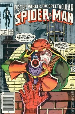 Spectacular Spider-Man (1st Series) Mark Jewelers #104MJ 1985 VG 4.0 Stock Image