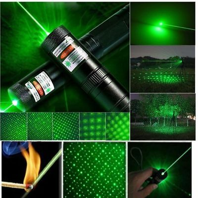 Bnib Green Laser Pen Pointer 303 Adjustable Beam Pattern Light Lazer Lockable.⭐️