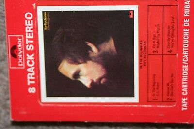 """Rare 1974 Roy Buchanan Blues """"in The Beginning"""" 8-Track! Rare Canadian Release!"""