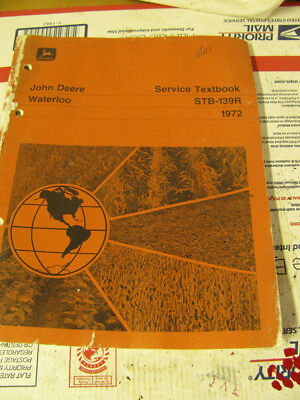 john deere service textbook stb-139R, 2030, 6030, 7520 tractor