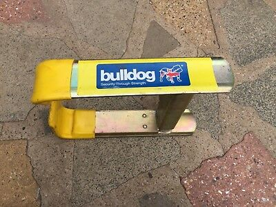Bulldog Euroclamp  Caravan Trailer Car Van Security Wheel Clamp