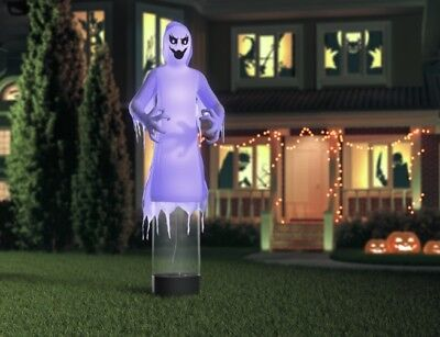 Gemmy 12' Tall Reaper Ghost Halloween Inflatable New
