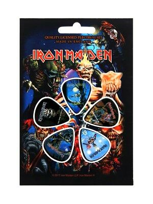 Iron Maiden Later Albums Plectrums 5 Pack