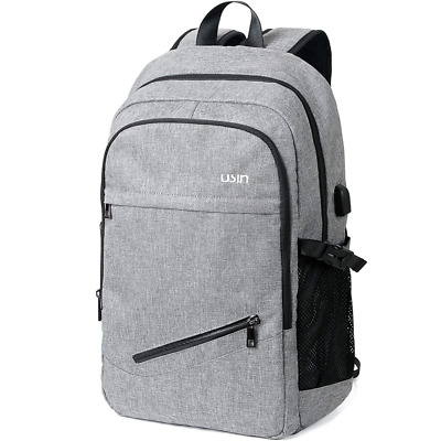 Laptop Backpacks Water Repellent College Computer with USB Charging Port NEW HOT